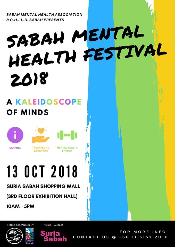 Malaysian Music Therapy Assocation Music Therapy Booth During World Mental Health Day Event In Sabah 13 Oct 2018